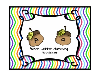 Acorn Letter Matching ABC