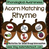 Rhyme - Acorn Matching