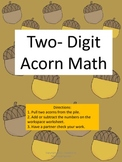 Acorn Math Two-Digit Addition And Subtraction With And Wit