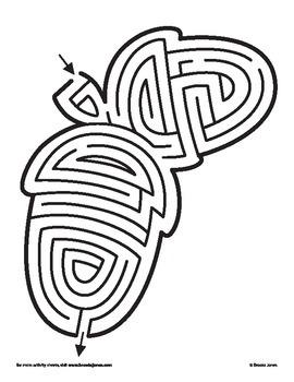 Acorn Maze