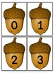 Acorn Number Flashcards 0-100
