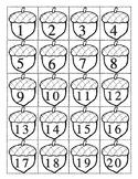 Acorn Number Line to 20