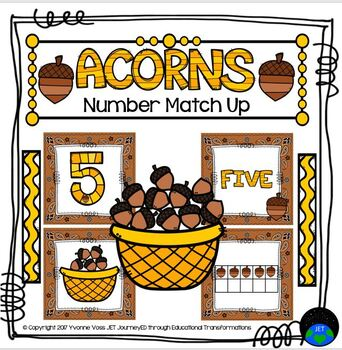Acorn Number Match Up