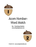 Acorn Number-Word Match