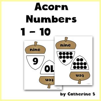 Acorn Number Match