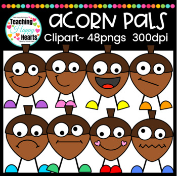 Acorn Pals Clipart Bundle