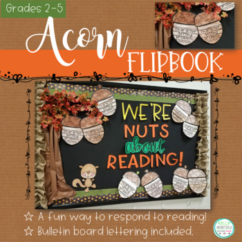 Acorn Reading Response Flipbook for Any Fiction or Nonfiction Book