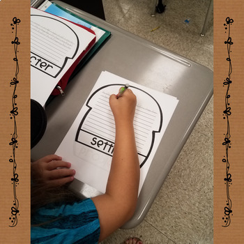 Flip Its! Acorn Story Elements and Nonfiction Flipbooks Reading Response