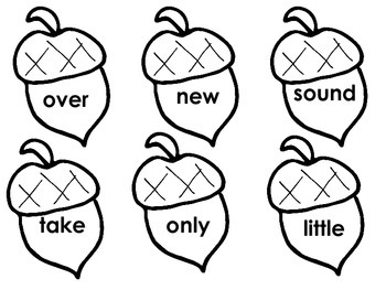 Acorn Sight Words (100-200)