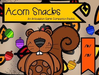 Acorn Snacks: An Articulation Game Companion /k/ and /g/