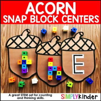 Acorn Snap Block Center - Alphabet