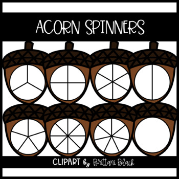 Acorn Spinners~ Clipart
