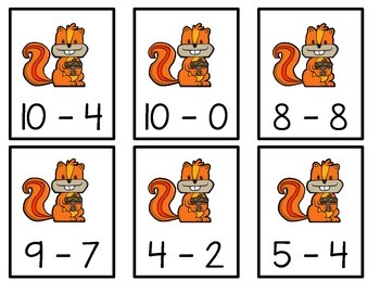 Acorn Subtraction Matching
