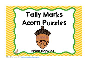 Acorn Tally Marks Puzzles