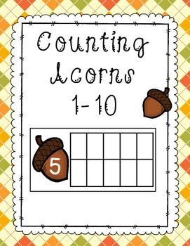 Acorn Ten Frame Counting