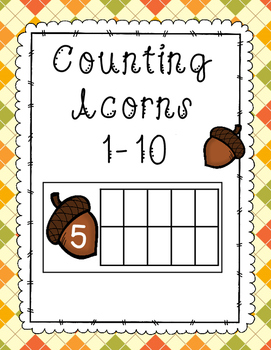 Acorn Ten Frame Counting