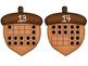 Ten Frames Match 0-20 Fall Themed