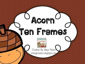 Acorn Ten Frames