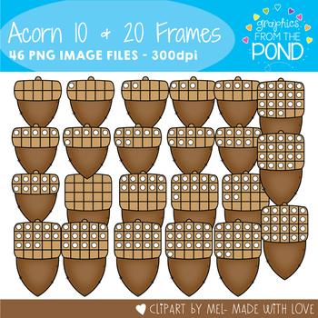 Acorn Ten and Twenty Frames
