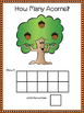 Acorn Tree Counting Mats 1-10 and Counting Booklet