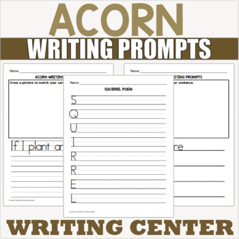 Acorn Writing Prompts