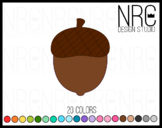 Acorn fall clipart commercial use
