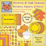 Oak Leaf Acorn Clip Art