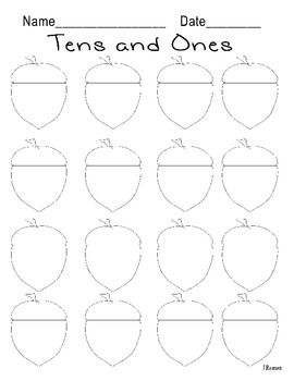 Acorns-Tens and Ones