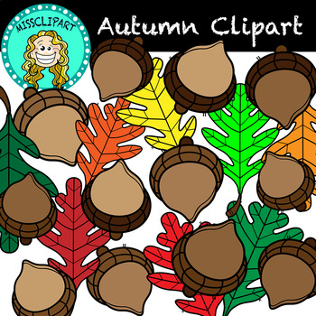 October's Party ~ Clip Art | Leaf coloring page, Leaf art, Leaf template