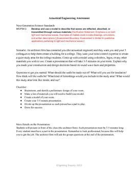 Mechanical Waves Problem Based Assessment