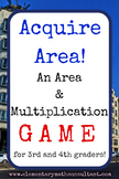 Acquire Area! An Area and Multiplication Game