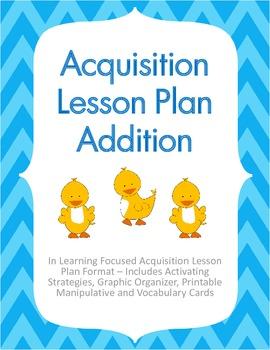 Acquisition Lesson Plan Addition