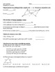 Geometry - Triangle Inequalities and Indirect Proof Test (key included)