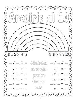 Acroiris al 10(math facts to ten)