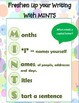 Back to School - Acronym Anchor Charts (Math, Reading, Writing, and Procedures.