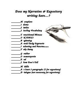 Acronym Checklist for Writing
