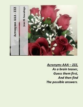 Acronyms AAA - ZZZ