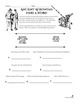 Acronyms Handout and Worksheets Set Middle and High School