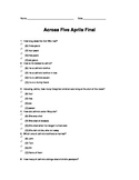 Across Five Aprils Final Test