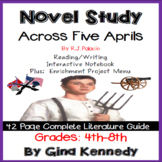 Across Five Aprils Novel Study & Enrichment Project Menu