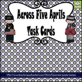 Across Five Aprils Task Cards