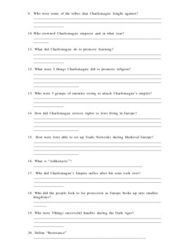 Across the Centuries 10.1 Reading Guide Worksheet