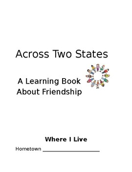 Across Two States- Penpal Activity