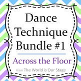 Dance Technique Lessons Bundle #1 for Across the Floor