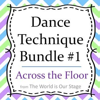 Dance Technique Lessons Bundle #1 for Across the Floor