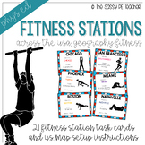 Across the USA Fitness Stations