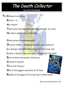 Book Activities for Any Book: Book Title Acrostics (Grades 5, 6, 7, 8)