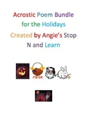 Acrostic Bundle of Poems For The Holidays