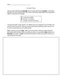 Acrostic Poem Activity Worksheet