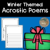 Four Winter Acrostic Poems for Any Age Level!